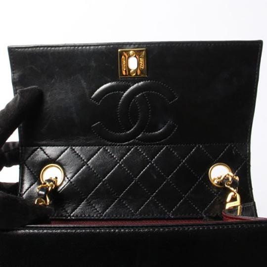 Chanel Vintage Tote Shoulder Lambskin Cross Body Bag Image 6