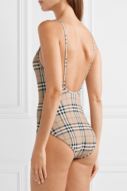 Burberry checked swimsuit body suit xs Image 2