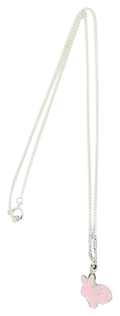 Item - Pink/Silver Pink/Silver Cc Bunny 05a 213897 Necklace