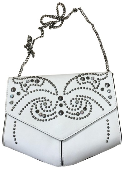 Preload https://img-static.tradesy.com/item/25803195/express-studded-purse-white-leather-cross-body-bag-0-1-540-540.jpg