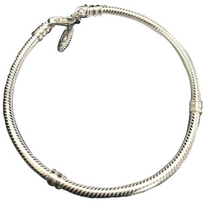 PANDORA Silver Sterling Lobster Clasp 7.9 Inches Or 20 Cm Bracelet