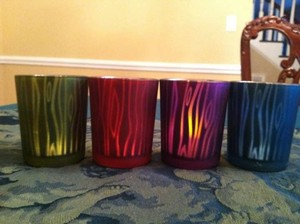 Votives Multi-colored