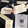 Fame and Partners Navy High Slit Strappy Sides Gown Long Formal Dress Size 8 (M) Fame and Partners Navy High Slit Strappy Sides Gown Long Formal Dress Size 8 (M) Image 4