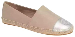 Tory Burch light taupe/silver Flats