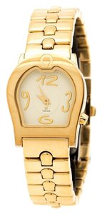 Etienne Aigner Plated Stainless Steel Ravenna A02200 Women's Wristwatch 24 mm