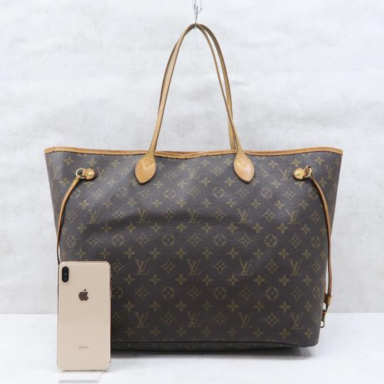 Louis Vuitton Lv Neverfull Gm Monogram Canvas Shoulder Bag Image 1
