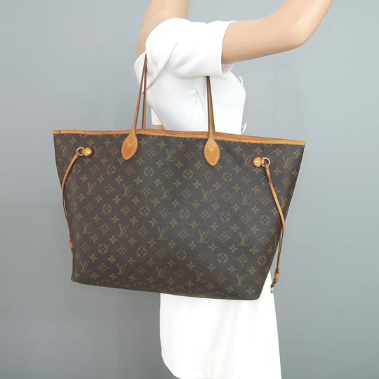 Louis Vuitton Lv Neverfull Gm Monogram Canvas Shoulder Bag Image 11