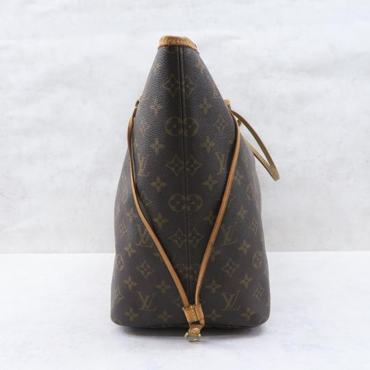 Louis Vuitton Lv Neverfull Gm Monogram Canvas Shoulder Bag Image 3