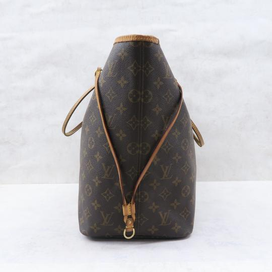 Louis Vuitton Lv Neverfull Gm Monogram Canvas Shoulder Bag Image 4