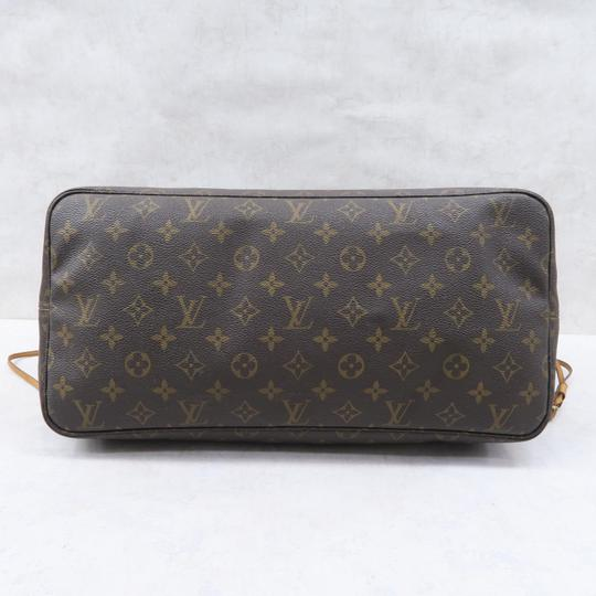 Louis Vuitton Lv Neverfull Gm Monogram Canvas Shoulder Bag Image 5