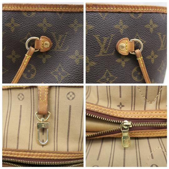 Louis Vuitton Lv Neverfull Gm Monogram Canvas Shoulder Bag Image 8
