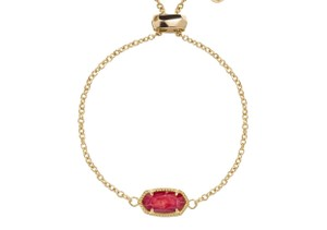 Kendra Scott Kendra Scott Elaina adjustable gold chain bracelet