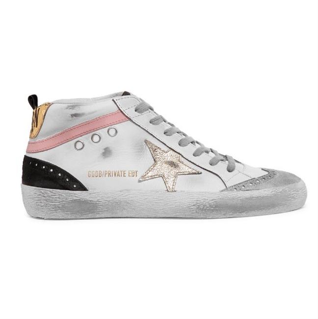 Item - Mid Star Distressed Leather Sneakers Size EU 38 (Approx. US 8) Regular (M, B)