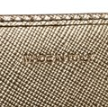 Prada Gold Saffiano Lux Leather Long Flap Wallet Image 6