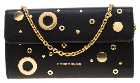 Preload https://img-static.tradesy.com/item/25805188/alexander-mcqueen-black-on-chain-leather-eyelet-and-stud-wallet-0-1-540-540.jpg