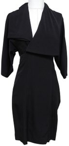 Stella McCartney Wool Silk 3/4 Sleeve Dress