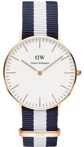 Daniel Wellington DANIEL WELLINGTON NEW GLASGOW 36mm ROSE GOLD QUARTZ WATCH NIB