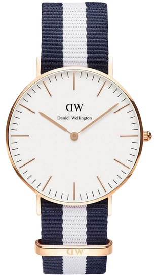 Daniel Wellington DANIEL WELLINGTON NEW GLASGOW 36mm ROSE GOLD QUARTZ WATCH NIB Image 0