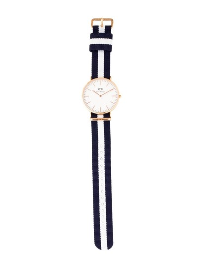 Daniel Wellington DANIEL WELLINGTON NEW GLASGOW 36mm ROSE GOLD QUARTZ WATCH NIB Image 1