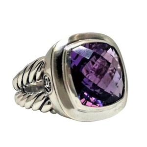 David Yurman Albion Amethyst Split Shank