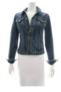 Red Engine blue Womens Jean Jacket