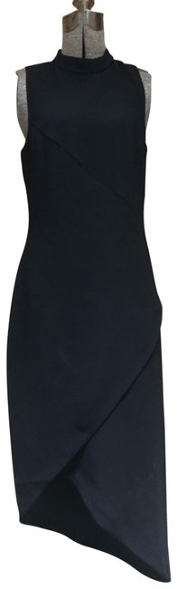 Preload https://img-static.tradesy.com/item/25806117/stylein-black-fitted-sheath-mid-length-cocktail-dress-size-4-s-0-2-650-650.jpg
