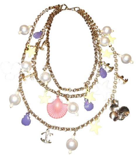 Preload https://img-static.tradesy.com/item/258062/just-cavalli-multicolor-from-rome-necklace-0-0-540-540.jpg