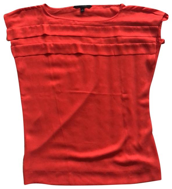 Item - Red/Orange Tiered Tunic Size 10 (M)