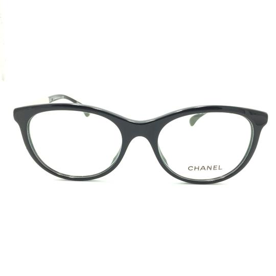 Chanel Chanel Round Black Silver 3357-A c.501 Rx Eyeglasses Image 0