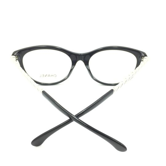 Chanel Chanel Round Black Silver 3357-A c.501 Rx Eyeglasses Image 5