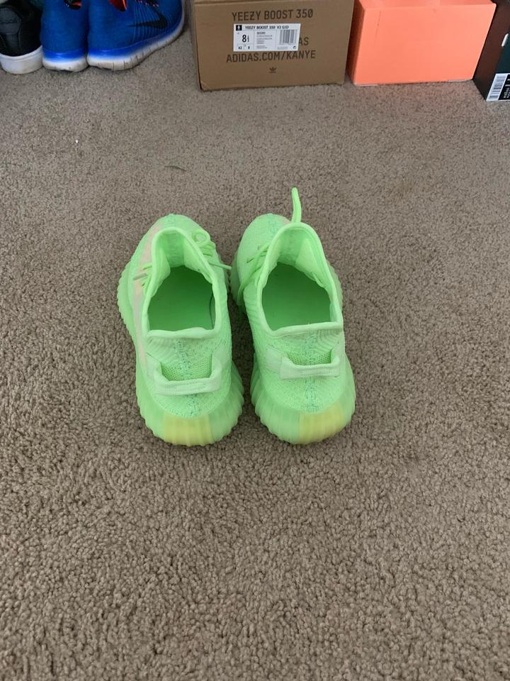 promo code f90d4 59fbb adidas Lime Green Yeezy 350 Boost Sneakers Size US 8.5 Regular (M, B) 3%  off retail