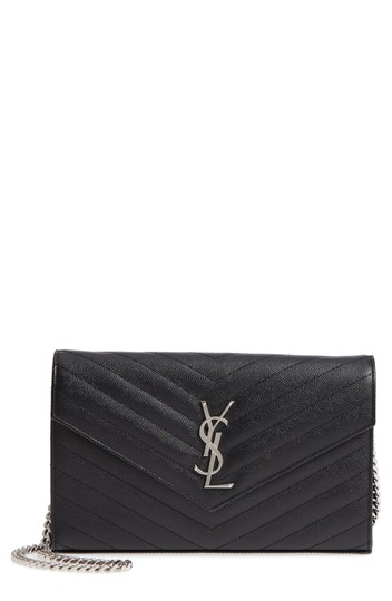 Preload https://img-static.tradesy.com/item/25807041/saint-laurent-monogram-wallet-on-a-chain-black-leather-clutch-0-0-540-540.jpg