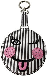 Henri Bendel SMILEY FACE BAG CHARM / KEY FOB