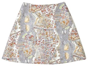 Carven Mini Skirt Multicolor