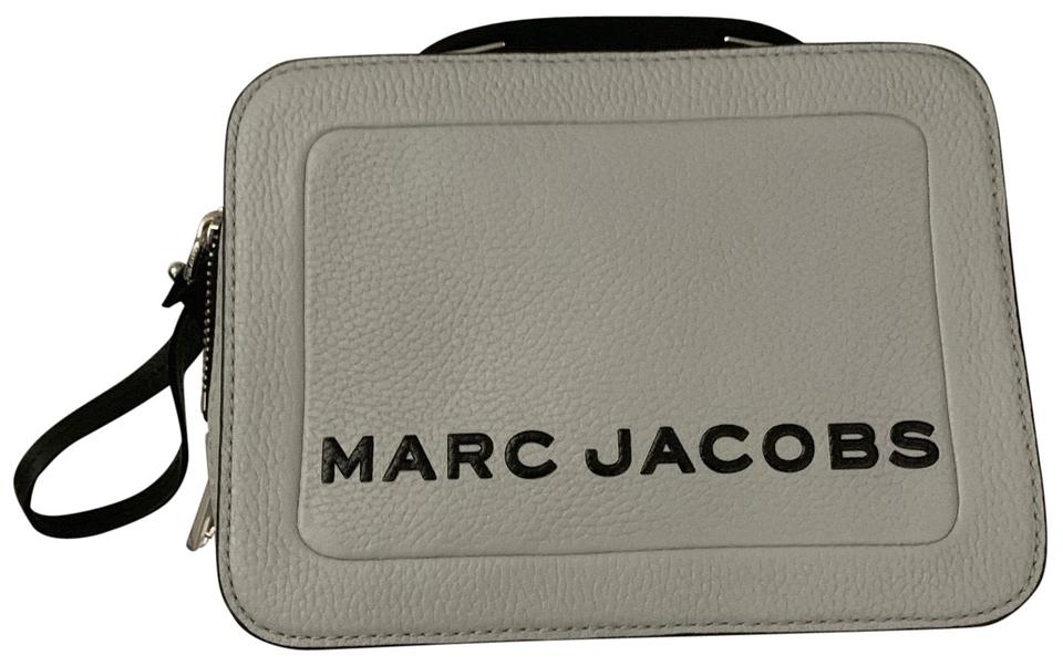 Marc Jacobs Box The 20 Swedish Grey Leather Cross Body Bag 15 Off Retail