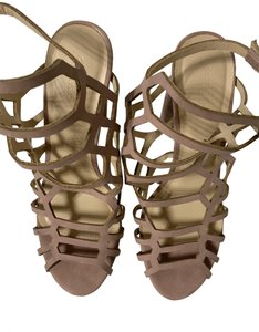 Charlotte Russe Nude Sandals