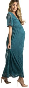 Teal Maxi Dress by PinkBlush