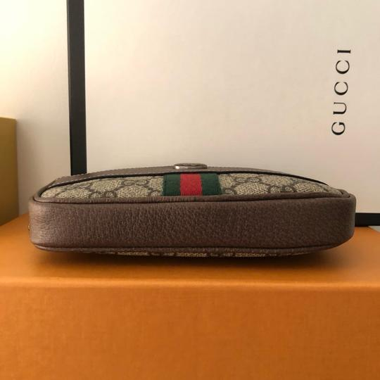 Gucci Canvas Gold Hardware Belted Cross Body Bag Image 7
