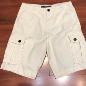 American Eagle Outfitters Cream Shorts Size 28