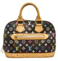 Louis Vuitton Takashi Satchel in Black and Multicolor Image 0