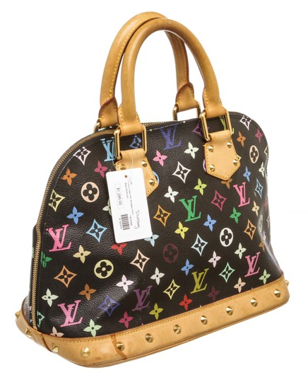 Louis Vuitton Takashi Satchel in Black and Multicolor Image 2