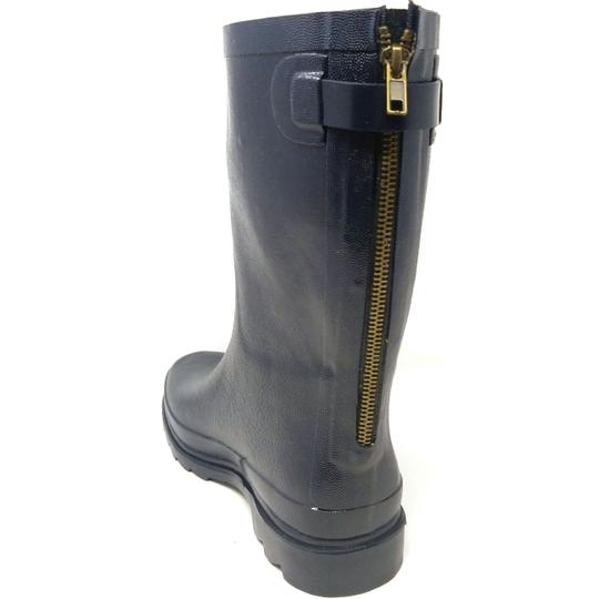 Forever Young Midcalf Rubber Rainboots Wellies Galoshes Black Boots Image 2