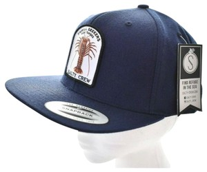 Salty Crew Salty Crew Thrill Seekers Risk Takers Buggin Out Navy Snapback Hat