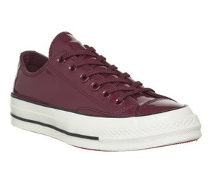 Converse Sneakers 70's Low Top DARK BURGUNDY patent leather Athletic