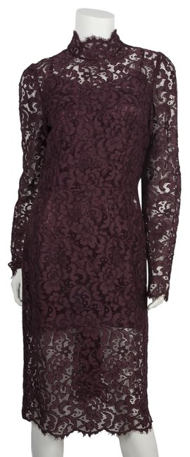 Preload https://img-static.tradesy.com/item/25809084/dolce-and-gabbana-burgundy-dolce-and-gabbana-floral-lace-44-mid-length-cocktail-dress-size-6-s-0-1-650-650.jpg
