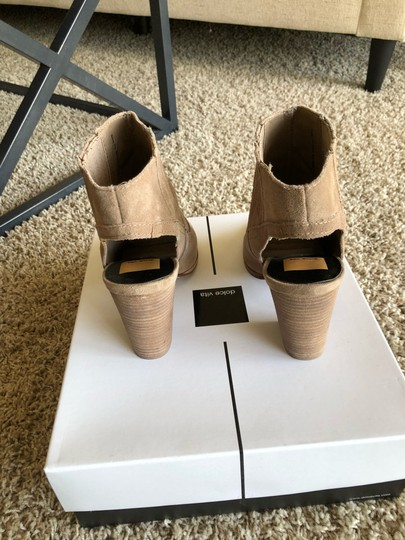 Dolce Vita Dark Taupe Suede Boots Image 1