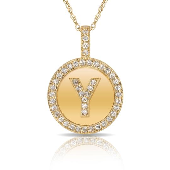 Preload https://img-static.tradesy.com/item/25809149/14kt-yellow-gold-plated-silver-initial-letter-y-micro-pave-cz-pendant-necklace-0-0-540-540.jpg