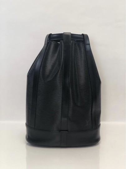 Louis Vuitton Lv Randonnee Randonnee Gm Epi Leather Bucket Shoulder Bag Image 2