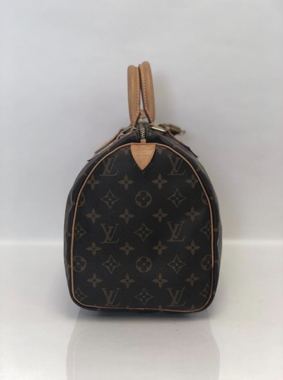 Louis Vuitton Speedy Speedy 30 Monogram Top Handle Satchel in Brown Image 3