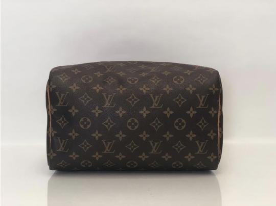 Louis Vuitton Speedy Speedy 30 Monogram Top Handle Satchel in Brown Image 7